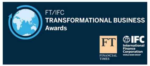 FT/IFC Transformational Business Awards 2016